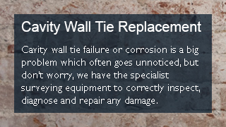 Cavity wall replacement
